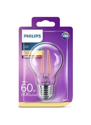 Philips Philips LED Classic 60W A60 E27 Non,RNKL Renkli